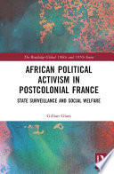 African Political Activism in Postcolonial France