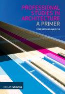 Professional Studies in Architecture