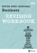 Revise BTEC National Business Revision Workbook