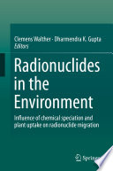 Radionuclides in the Environment Book