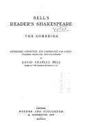 Bell s Reader s Shakespeare