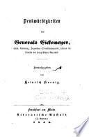 Denkwürdigkeiten des Generals Eickemeyer...