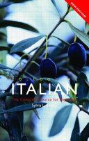 Colloquial Italian