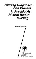 Nursing Diagnoses and Process in Psychiatric Mental Health Nursing Book