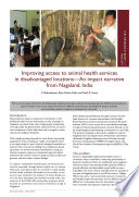 Improving Access To Animal Health Services In Disadvantaged Locations An Impact Narrative From Nagaland India