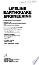 Lifeline Earthquake Engineering  , Volume 3