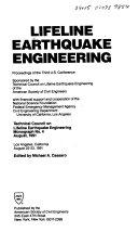 Lifeline Earthquake Engineering