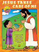 Bible Story Coloring Book About Jesus Feeding 5000 People Front Cover Shirley Dobson