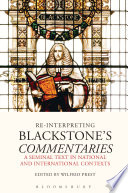 Re Interpreting Blackstone S Commentaries