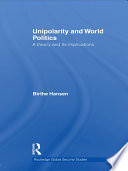 Unipolarity and World Politics