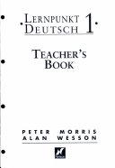 Lernpunkt Deutsch 1 - Teacher's Book with New German Spelling