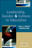 Leadership Gender And Culture In Education