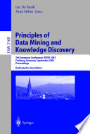 Principles Of Data Mining And Knowledge Discovery Book PDF