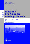 Principles of Data Mining and Knowledge Discovery