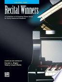 Recital Winners  Book 2