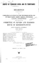 Survey of Tennessee River and Its Tributaries