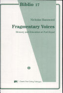 Fragmentary Voices