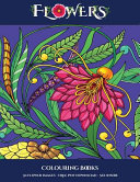 Colouring Books  Flowers
