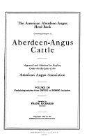 The American Aberdeen-Angus Herd-book