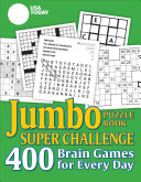 USA Today Jumbo Puzzle Book Super Challenge