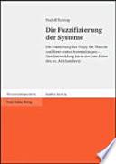 Die Fuzzifizierung der Systeme