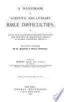 A Handbook Of Scientific And Literary Bible Difficulties