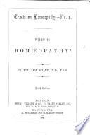 Twelve Tracts on Hom  opathy