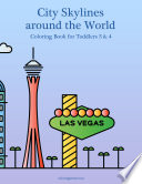 City Skylines around the World Coloring Book for Toddlers 3   4