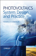 Photovoltaics System Design and Practice