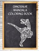 Dinosaur Mandala Coloring Book