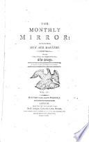 The Montly Mirror Reflecting Men And Manners Vol Iv