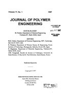 Journal of Polymer Engineering