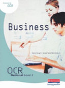 OCR National Level 2 in Business Student Book