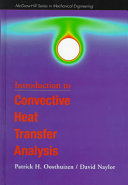 An Introduction to Convective Heat Transfer Analysis