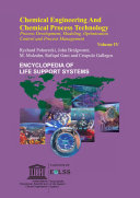 Chemical Engineering and Chemical Process Technology - Volume IV
