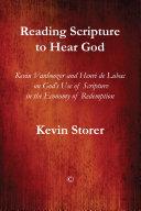Pdf Reading Scripture to Hear God
