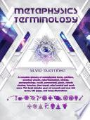 Metaphysics Terminology