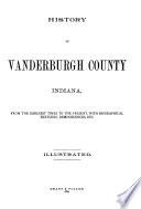 History of Vanderburgh County  Indiana