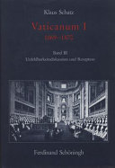 Vaticanum I, 1869-1870