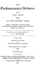 The Parliamentary Debates from the Year 1803 to the Present Time:: 15