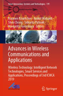 Advances in Wireless Communications and Applications