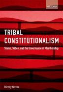 Tribal Constitutionalism