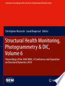 Structural Health Monitoring  Photogrammetry   DIC  Volume 6