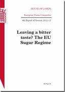Leaving a Bitter Taste    The EU Sugar Regime