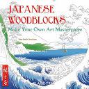 Japanese Woodblocks  Art Colouring Book
