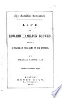 Life of Edward Hamilton Brewer Book