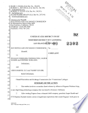 Pegasus Wireless Corporation, Jasper Knabb, and Stephen Durland: Securities and Exchange Commission Litigation Complaint