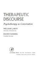 Therapeutic Discourse