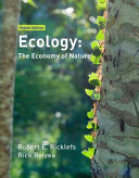 Cover of Ecology: The Economy of Nature