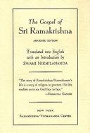 The Gospel of Sri Ramakrishna